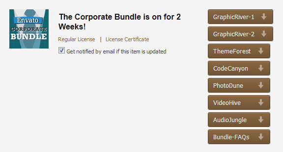 Envato Corporate Bundle Download
