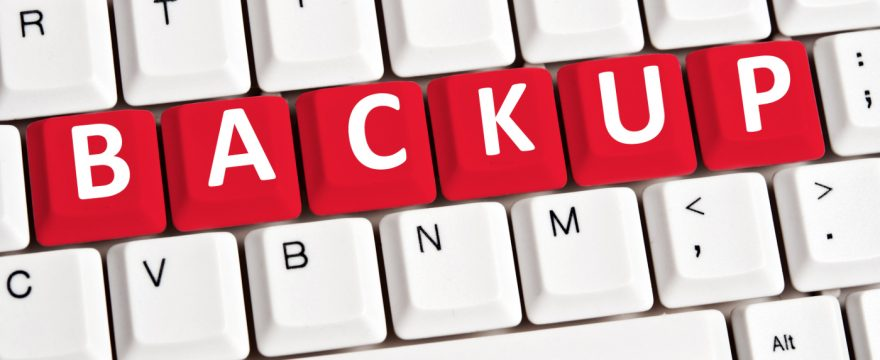 Backup je WordPress website – altijd!